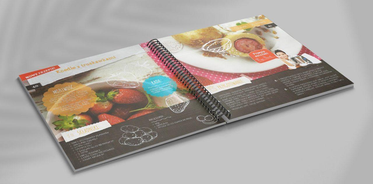 Książka kucharska ELDOM Kinga Paruzel