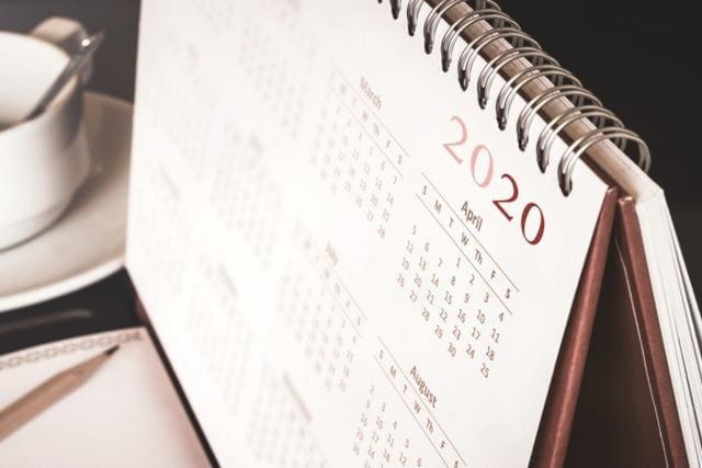 kalendarz biurowy