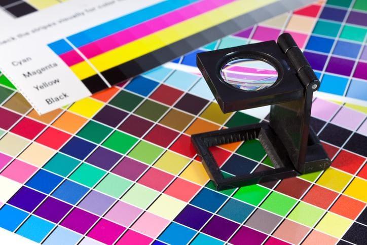 kolory w druku