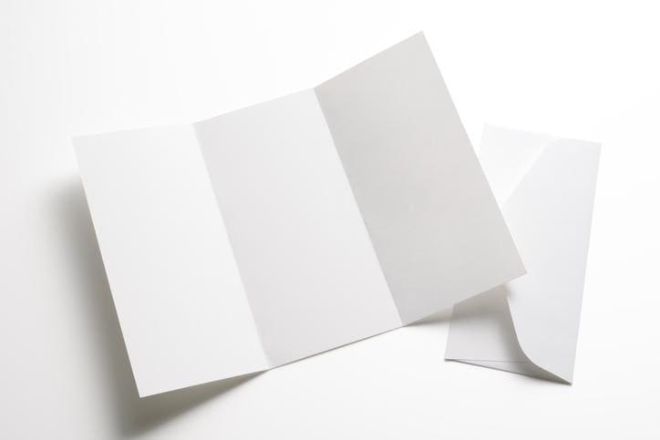 pusta broszura