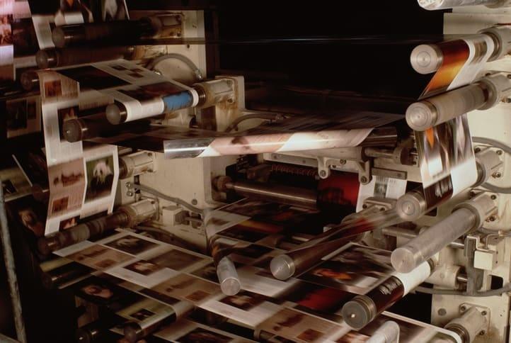 druk folderów